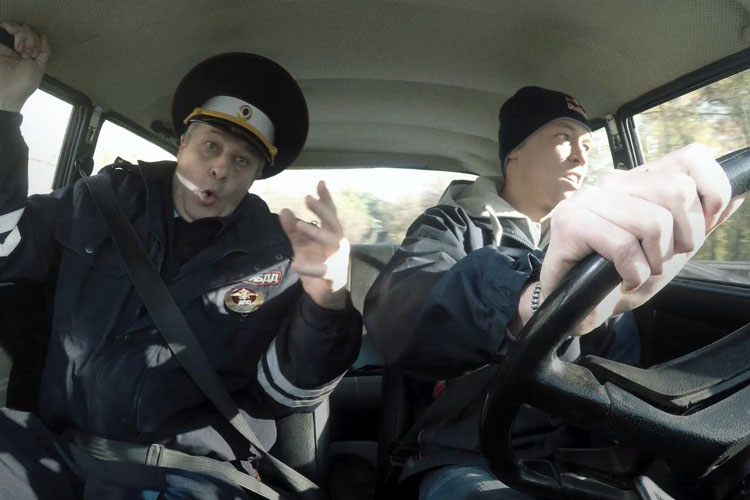 Ошибки на экзамене по вождению