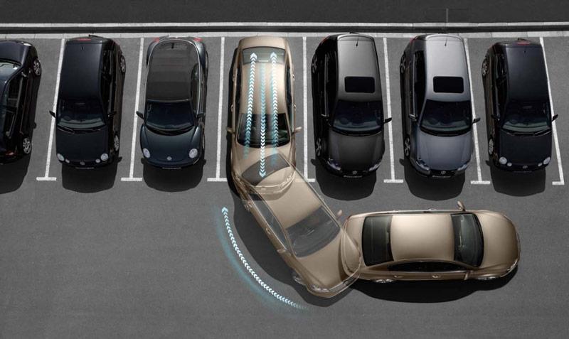 Выезд из парковки передним ходом