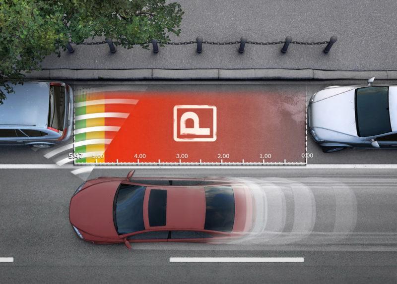 Параллельная парковка автомобиля