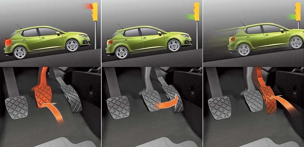 Как правильно трогаться с места на автомобиле с механической коробкой переключения передач