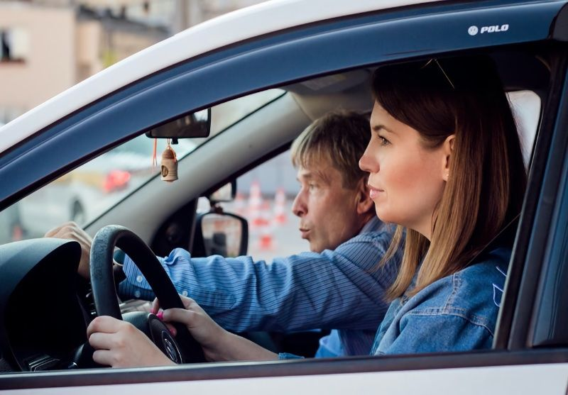 Как девушке справиться со трахом садиться за руль