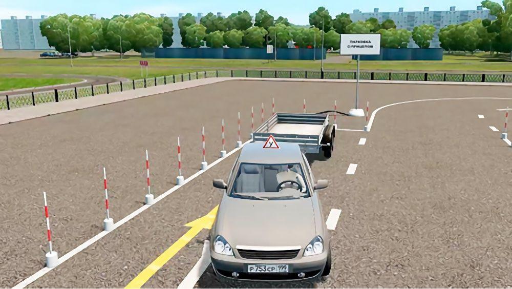 Вождение автомобиля с прицепом