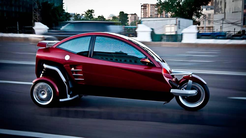 Трехколесный транспортное средство