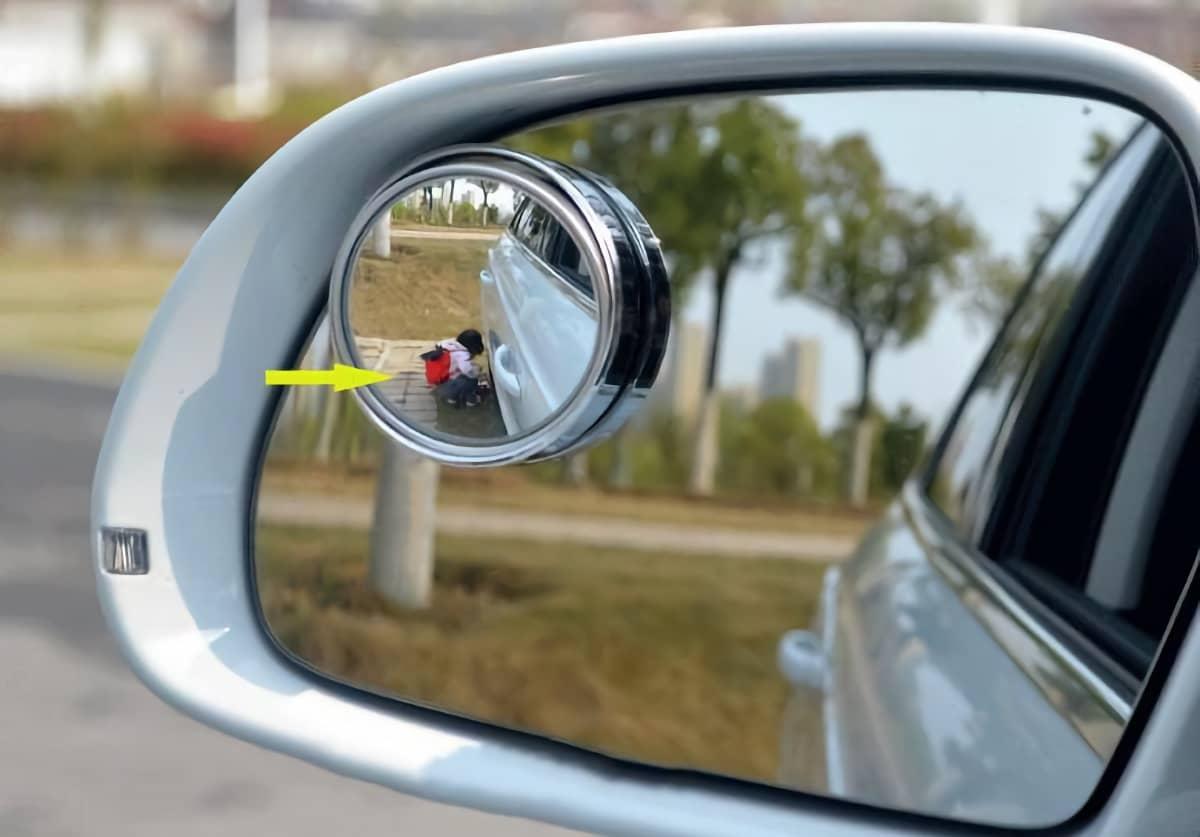 Дополнительное зеркало машины