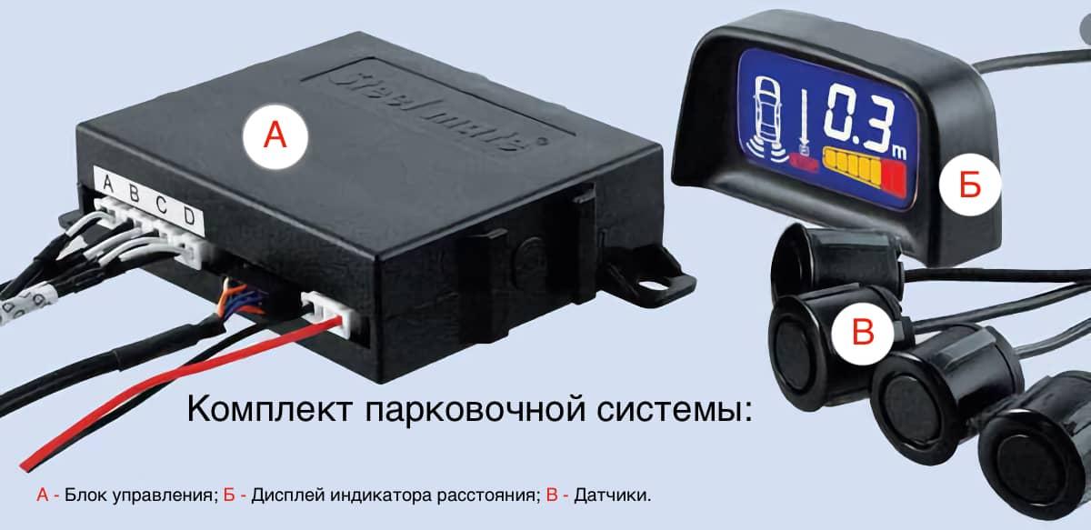 Комлпект парковочного оборудования