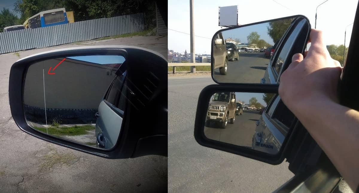 асферическое зеркало н заднего вида