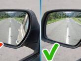 Правильная настройка зеркал в автомобиле