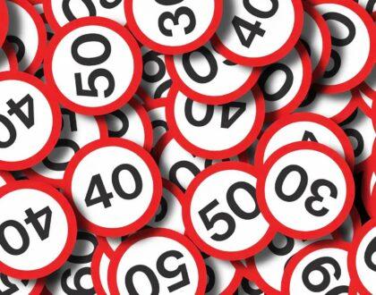 Дорожные знаки ограничение скорости